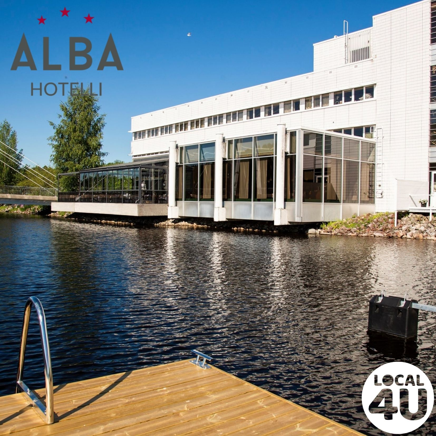 Finlandia Hotelli Alba – näköalaravintola ja terassi Jyväsjärven rannalla Jyväskylässä!