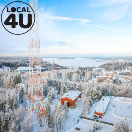 Tour de Radiomastot, Lahti 3,6km by Local4U