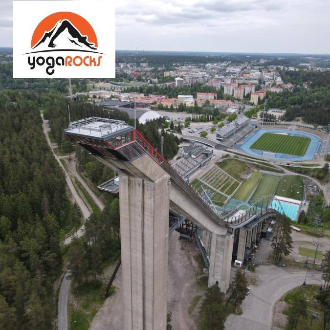 YogaRocksin Polttari/synttäri Special Suurmäen torni, Lahti
