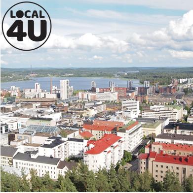 City Tour de Jyväskylä 8,1km by Local4U
